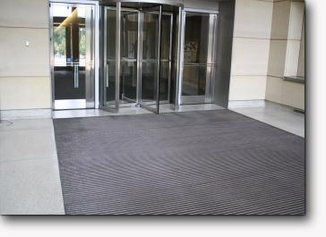 Revolving Door Entrance Floor Mats Ronick Entry Matting