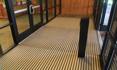 Ronick Entrance Matting Pedimat M2 Commercial Building Installation