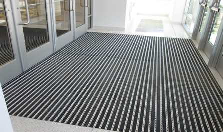 Ronick Entrance Matting Recessed Pedimat M2 Commercial Installation