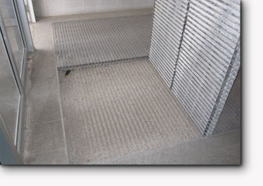 Metal Entrance Mat Cleaning Ronick Entry Matting Systems