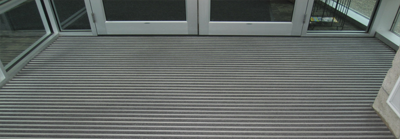 Aluminum Entrance Mat Refurbishing Ronick Entry Matting